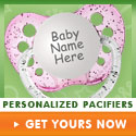 Personalized Pacifiers & More on CoolPacifiers.com
