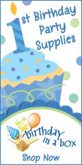 1st Cupcake Boy 120 x 240