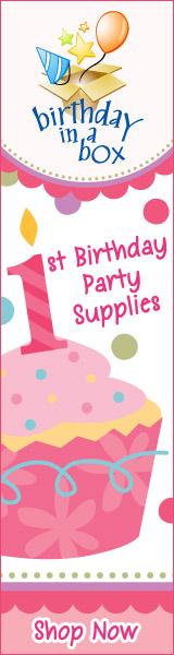 1st Cupcake Girl 160 x 600