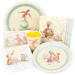 Baby Curious George Party Supplies