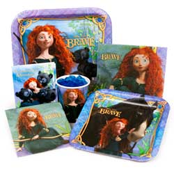 Brave Party Supplies - Disney Brave Birthday