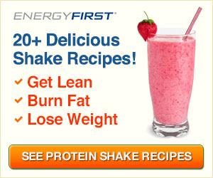 100% Natural Protein Shake Recipes