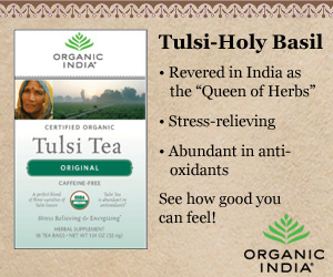 Click Here to Shop Globally Conscious Organic Herbal Teas and Supplements from Organic India and Support The Garden Oracle with Your Purchases!