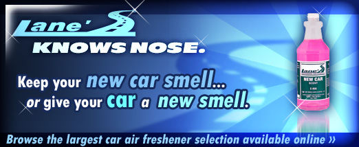 Lane's Car Products Air Fresheners
