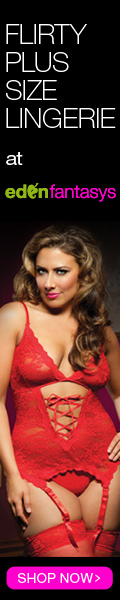 Flirty Plus Size Lingerie at EdenFantasys