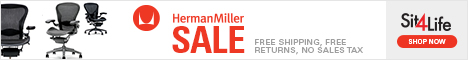 Save 15% on Herman Miller with Free Shipping 11/25/13 - 12/12/13