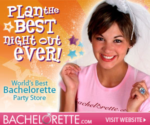 Check out Bachelorette.com for Bachelorette Party Favors and Accessories