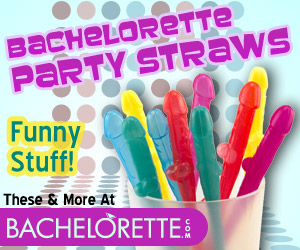 bachelorette party straws