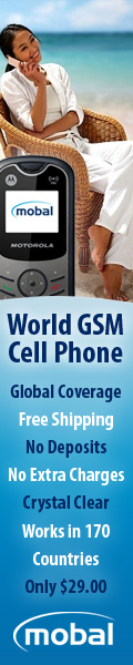 Own a gsm world cell phone that works in over 170 countries
