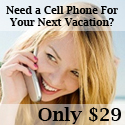 Own a gsm world cell phone that works in over 170 countries for your next vacation