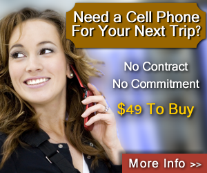 Need A Cell Phone For Your Next Trip