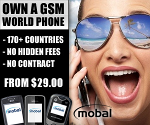 Own a gsm world cell phone that works in over 170 countries from just $29