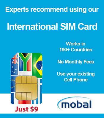 International SIM Card just $9