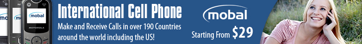 Cell phone dialing codes + Mobile Calling Service = low International rates to call International mobile phones.