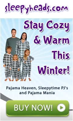 Stay Cozy & Warm This Winter With Pajama's From Sleeypheads.com