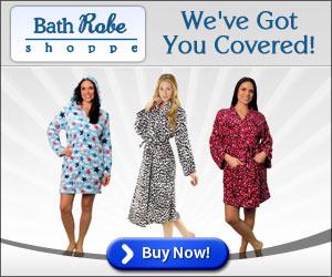 Men's & Women's Bathrobes, Slippers, Kids Robes