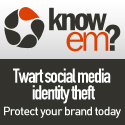 Register your brand or username on 120 sites