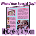 What's Your Special Day?