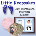 Little Keepsakes clay impressions, ink prints, and more.