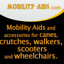 Mobility Aids and Accessories - Canes, Crutches, Walkers, Scooters and Wheelchairs
