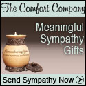 Shop comforting sympathy and condolence gifts at The Comfort Company.