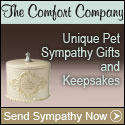 Find unique and meaningful pet sympathy gifts at The Comfort Company.