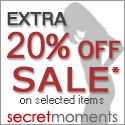 Lingerie On Sale at SecretMoments.com