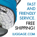 Free Shipping, Fast and Friendly Service - Click here to visit Luggage.com!