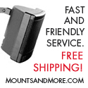 Mounts and More - Fast Friendly Service and Free Shipping!