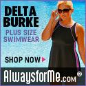 Delta Burke Plus Size Swimsuits