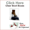 ShoeStor Clear Boot Boxes - Be organized!