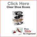 ShoeStor Clear Shoe Boxes - Be Organized!