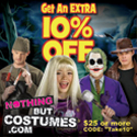 Nothing But Costumes -Take an Extra 10% Off!