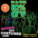 Nothing But Costumes - Take an Extra 10% Off!