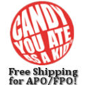 Old Time Candy Offers Free Shipping To APO and FPO addresses