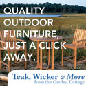 Quality Outdoor Furniture - Just a click away! Teak, Wicker and more...