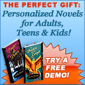 The perfect gift - a personalized novel!