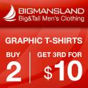 Big Man's Land - Graphic T-shirts