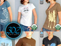 302designs - unique, organic t-shirts