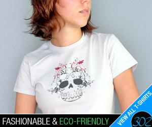 fashionable, eco-friendly t-shirts