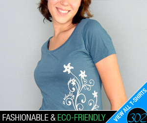 fashionable, eco-friendly t-shirts