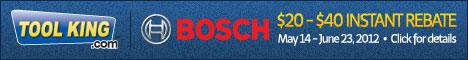Bosch Instant $20-$40 Rebate