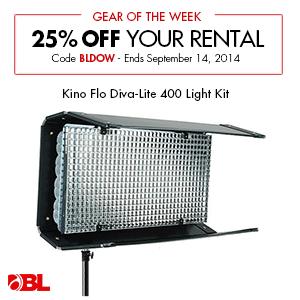 Kino Flo Diva-Lite 400 Light Kit