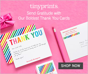 Thank You Cards from Tiny Prints