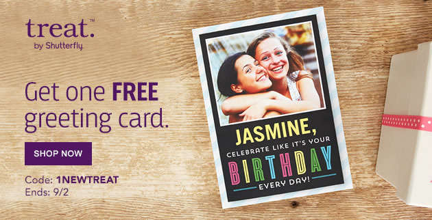 Treat Free CArd