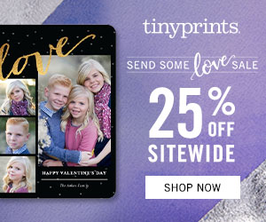 Send some love sale - save 25% sitewide!