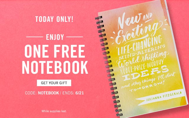 tiny prints promo code free notebook today only just pay shipping