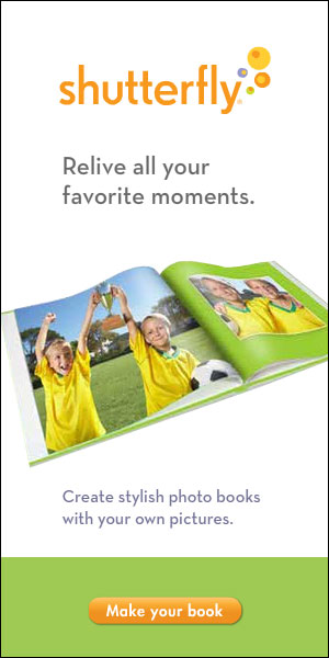 Shutterfly Evergreen 300x600 - Capture Memories with a Shutterfly Photo Book