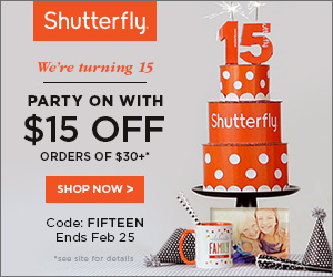 ALL customers receive $15 off any purchase of $30+ or more with promo code FIFTEEN