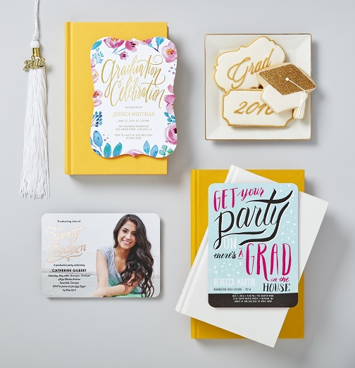 Tiny Prints – Graduation Annoucements